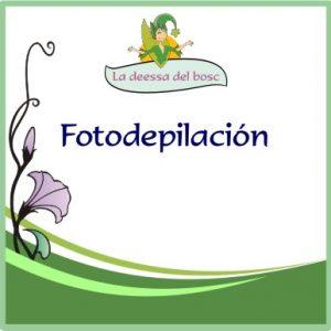 Fotodepilación