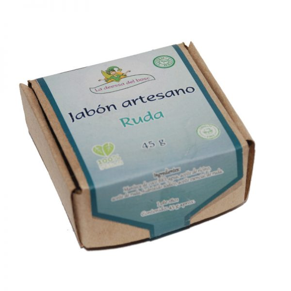 jabón artesano ruda 45 g