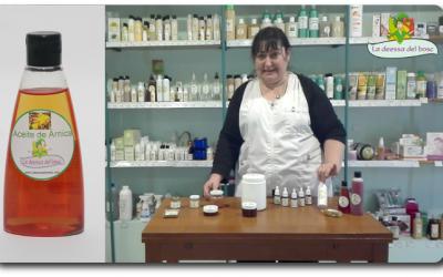 Presentación aceites y ungüentos 100 % naturales y artesanos