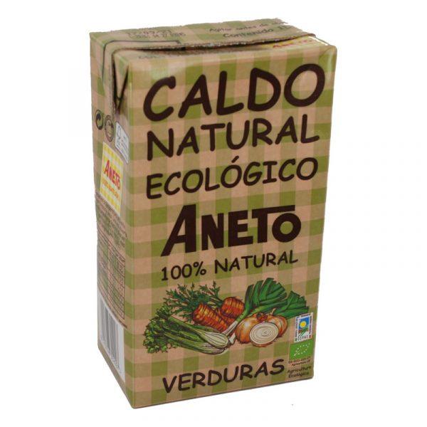 Caldo verduras ecologicas Aneto 1 L