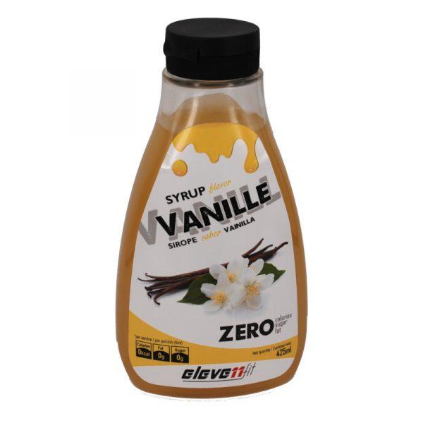 Sirope vainilla sin azucar Elevenfit 425 ml