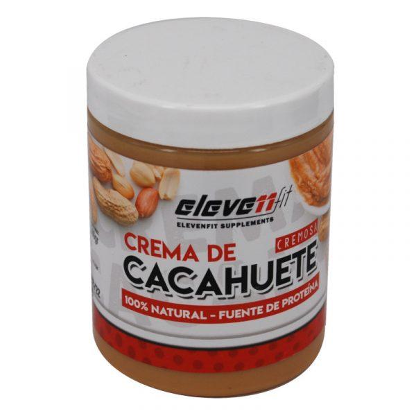 crema cacahuete 100x100 natural Elevenfit 300 g