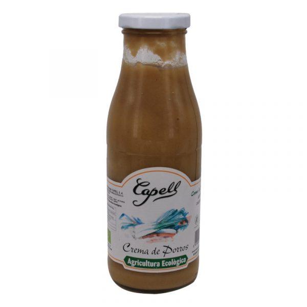 Crema puerros Capell 485 g