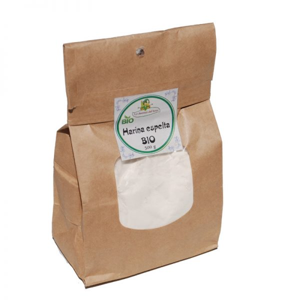 harina espelta blanca BIO 500 g