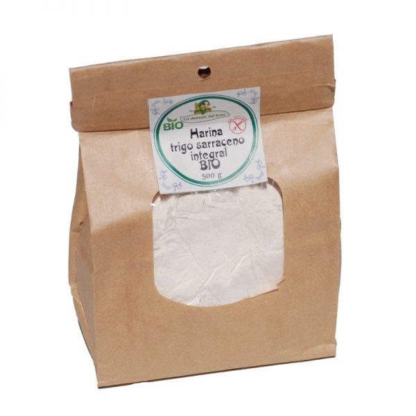 harina trigo sarraceno integral BIO 500 g