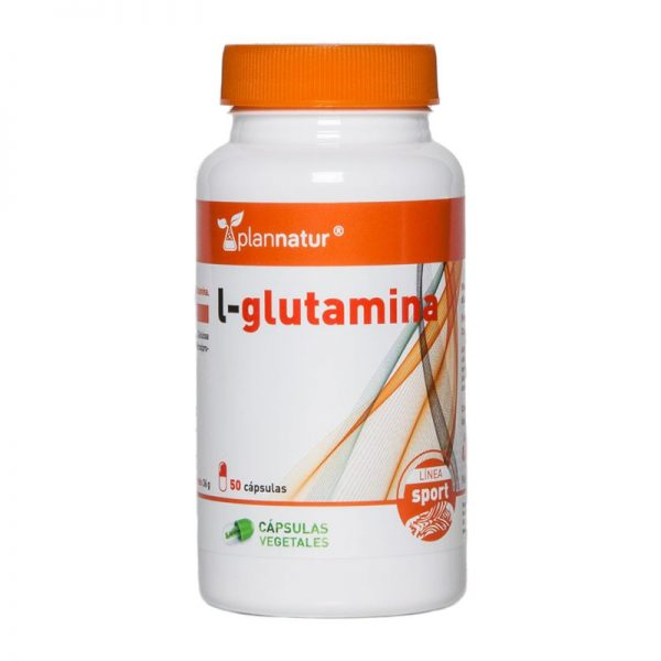 l-glutamina 100 cápsulas