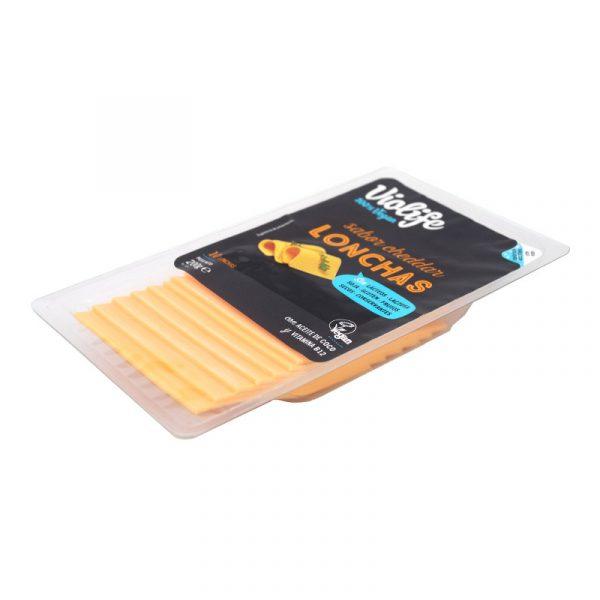 lonchas sabor cheddar Violife 200 g