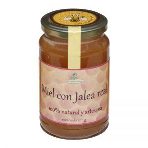miel con jalea real 470 g