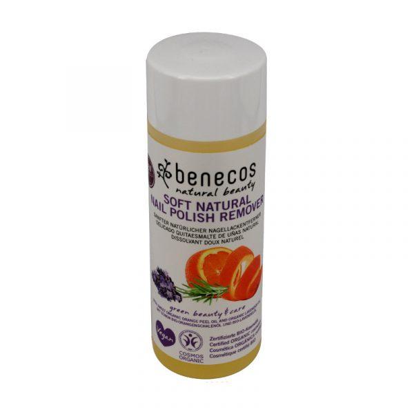 quitaesmalte sin acetona Benecos 125 ml