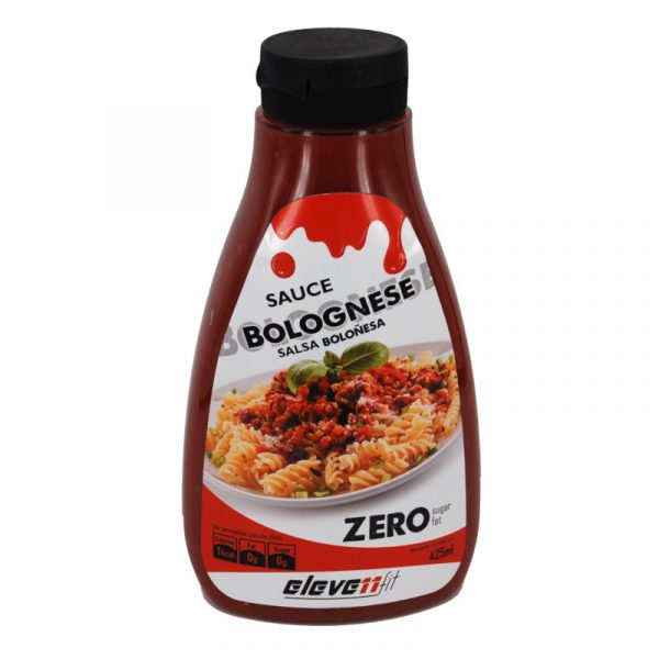 salsa bolonesa sin azucar Elevenfit 425 ml