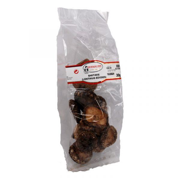 shiitake setas secas 30 g