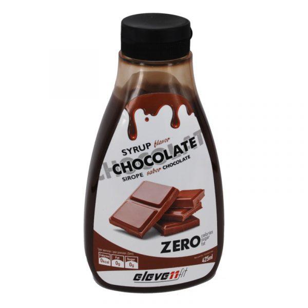 Sirope sabor chocolate sin azucar Elevenfit 425 ml