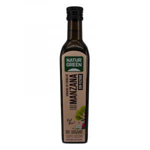 vinagre sidra de manzana sin filtrar 500 ml