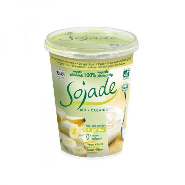 yogurt sojade plátano BIO 400 g